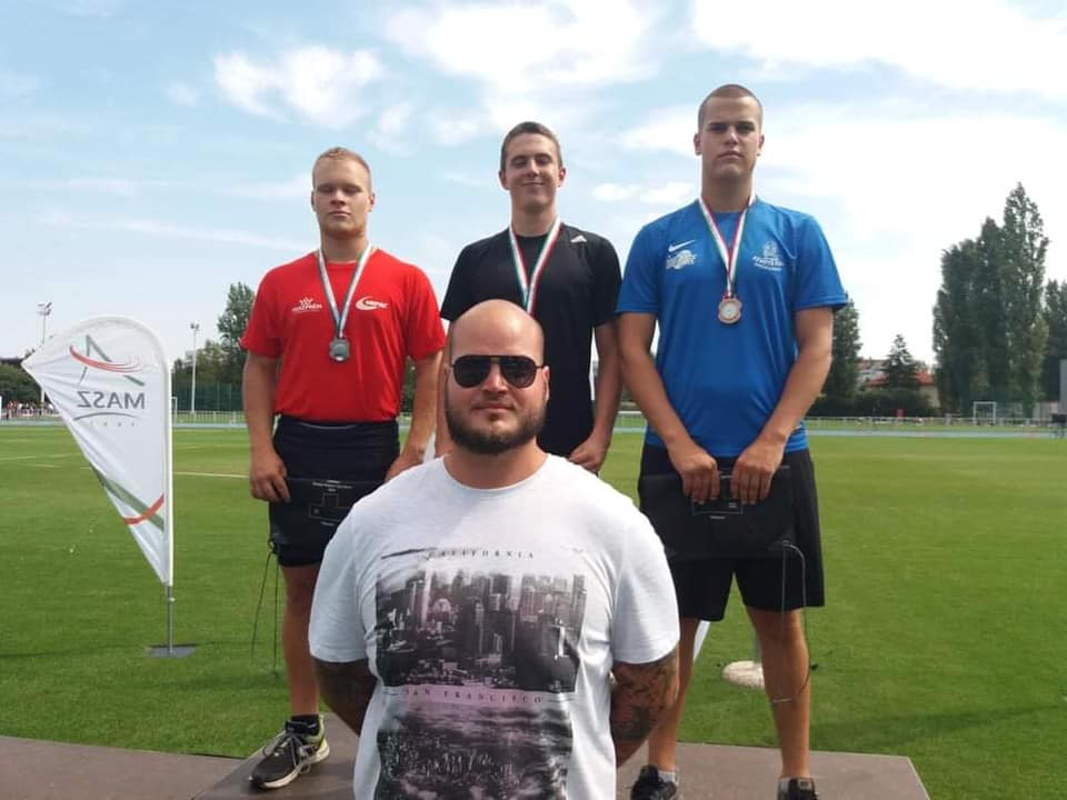 4. Atlétikai Magyar Ifjúsági Liga Döntő - Budapest Pápa Atlétikai Club 1