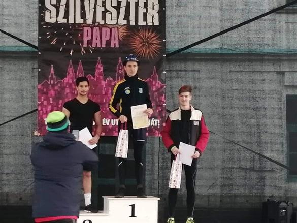szilveszteri futóverseny- pápai atlétikai club9