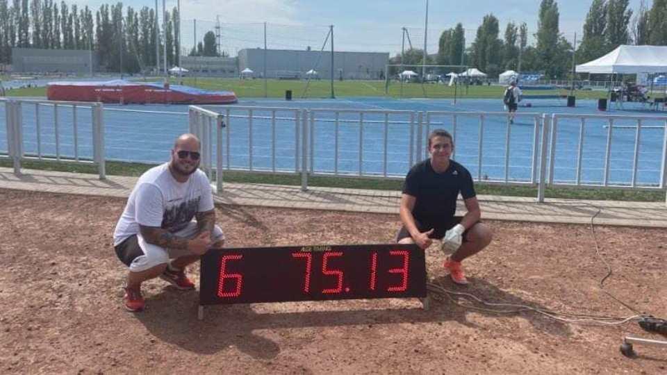 4. Atlétikai Magyar Ifjúsági Liga Döntő - Budapest Pápa Atlétikai Club