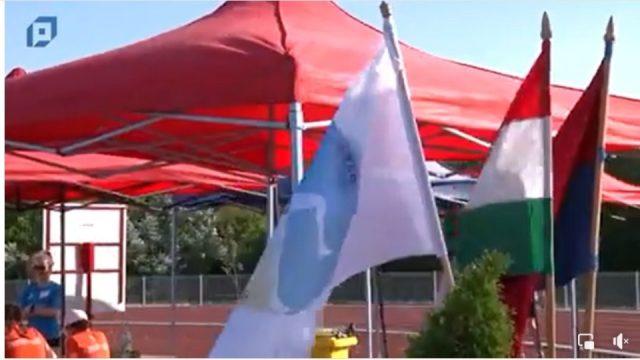 Nagyszabású Regionális atlétikai verseny a Pápai Sport Centrumban.
